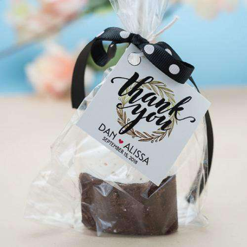 Personalized Hot Chocolate Wedding Favors Gourmet Wedding Gifts