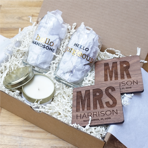 Love and Light Wedding Gift Box-Gourmet Wedding Gifts and Wedding Favors for guests