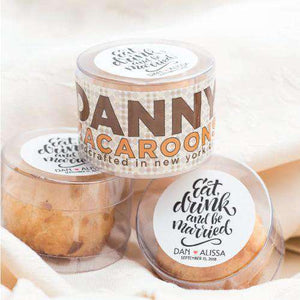 Personalized Macaroon Gift Box Favors