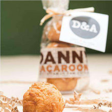 Load image into Gallery viewer, Personalized 3 Piece Mini Macaroon Favors