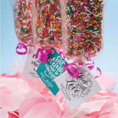 Personalized Brownie Pop Gift Bags-Gourmet Edible Wedding Gifts and Wedding Favors