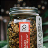 Granola One Pint Mason Jars-Wedding Favors Gourmet Wedding Gifts and edible wedding favors