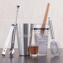 Load image into Gallery viewer, Personalized Cocktail Shaker Bar Set-Gourmet Wedding Gifts Personalized custom party favors and corporate event gifts