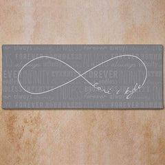 Personalized Infinity Symbol Canvas Wall Art-Canvas Gourmet Wedding Gifts and edible wedding favors