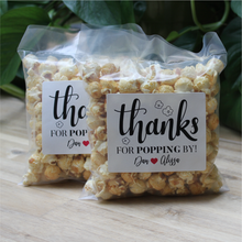 Load image into Gallery viewer, Freshly Popped Personalized Caramel Popcorn Bags