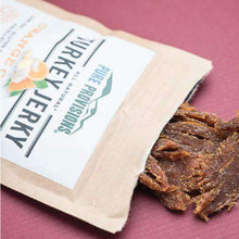 Load image into Gallery viewer, Personalized Small Turkey Jerky Snack Bag Favors-Gourmet Wedding Gifts and Wedding Favors for guests