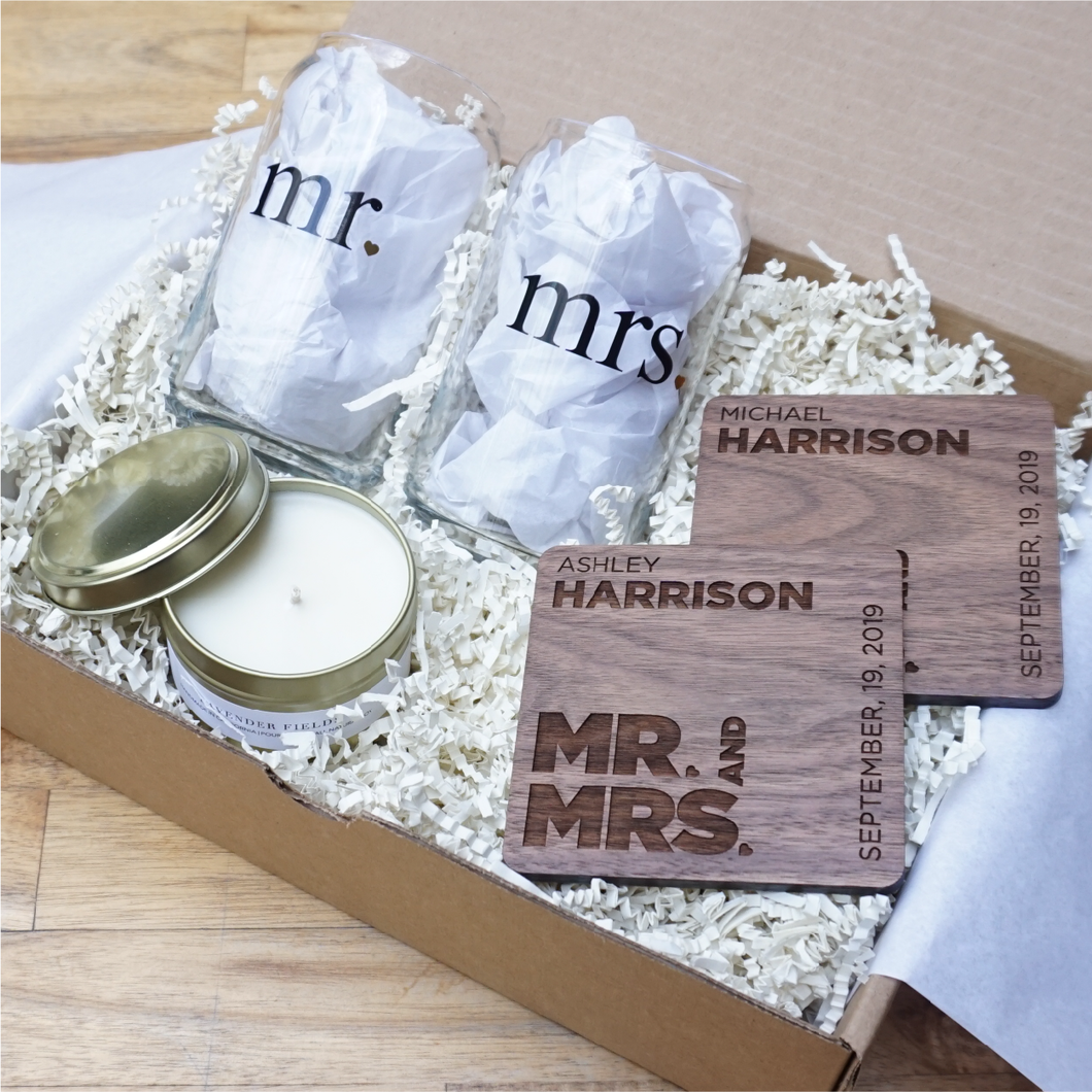 Relax in Love Wedding Gift Box-Gourmet Wedding Gifts and Wedding Favors for guests