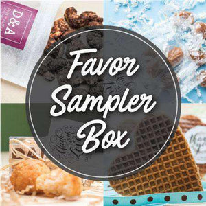 *Best Sellers* Wedding Favors Sampler Box