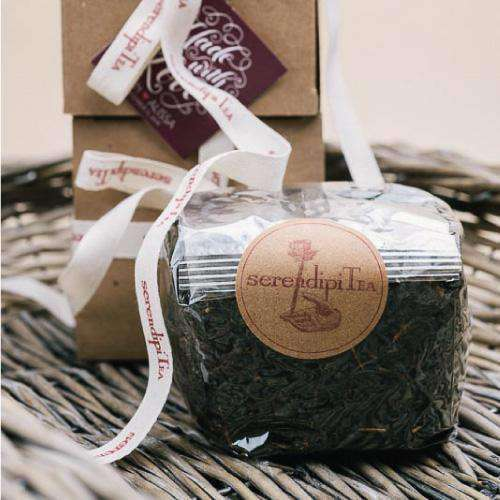 Personalized Organic Tea Gift Box Favors