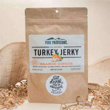 Load image into Gallery viewer, Personalized Large Turkey Jerky Snack Bag Favors-Gourmet Wedding Gifts Personalized custom party favors and corporate event gifts