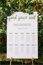 Load image into Gallery viewer, Custom Wedding Sign Design