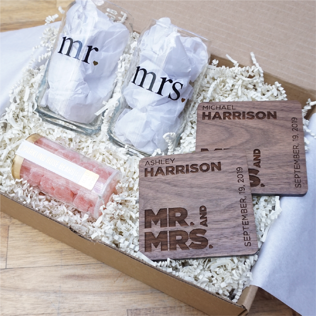 Welcome Home Wedding Gift Box-Gourmet Wedding Gifts and Wedding Favors for guests