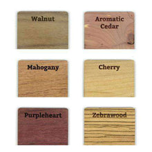 "Load image into Gallery viewer, Custom Solid Wood Wedding Invitations - ""Embellished Vines"" Design-Gourmet Wedding Gifts Personalized custom party favors and corporate event gifts"