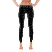 "Load image into Gallery viewer, Women's ""Wifey"" Leggings - Black"