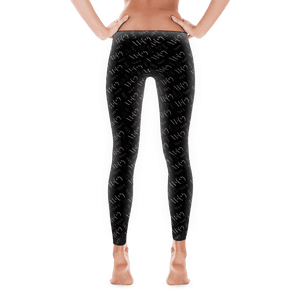 "Women's ""Wifey"" Leggings - Black"