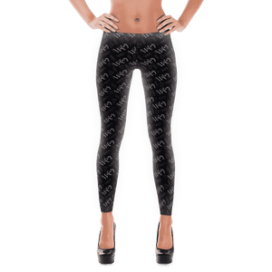 "Women's ""Wifey"" Leggings - Grey-Gourmet Wedding Gifts Personalized custom party favors and corporate event gifts"
