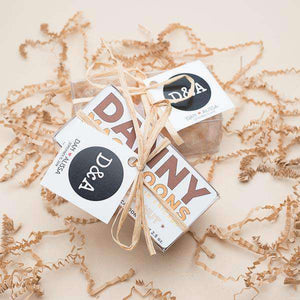 Personalized 2 Piece Mini Macaroon Gift Box Favors-Gourmet Wedding Gifts Personalized custom party favors and corporate event gifts