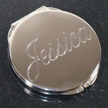 Load image into Gallery viewer, Personalized Bridesmaids Crystal Compact Mirror-Gourmet Wedding Gifts Personalized custom party favors and corporate event gifts