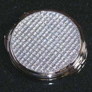 Personalized Bridesmaids Crystal Compact Mirror-Gourmet Wedding Gifts Personalized custom party favors and corporate event gifts