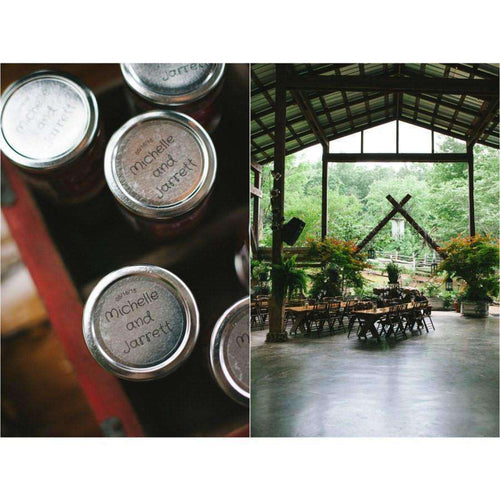 Personalized Wedding Jam Favors-Gourmet Wedding Gifts Personalized custom party favors and corporate event gifts
