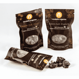 Wedding Favors - Organic Dark Chocolate Munch 2oz Snack Bags