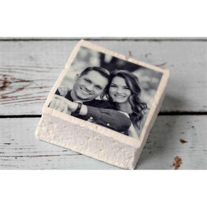 Personalized Photo Marshmallow Favors-Gourmet Wedding Gifts Personalized custom party favors and corporate event gifts