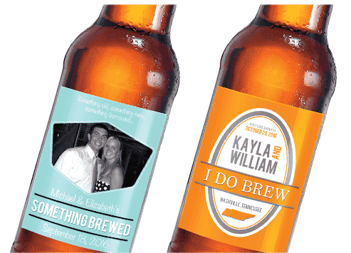 Personalized Beer Bottle Labels-Gourmet Wedding Gifts Personalized custom party favors and corporate event gifts