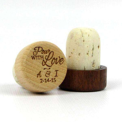 Personalized Wedding Corks -