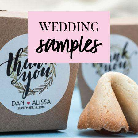 Wedding Favors Samples