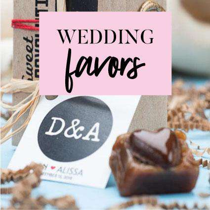 Personalized Custom Wedding Party Favors