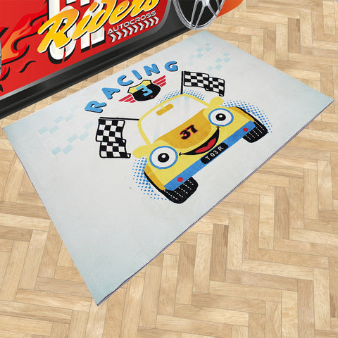 Oliandola 120x180cm Racing Rug Matching Kids Racing Car Bed