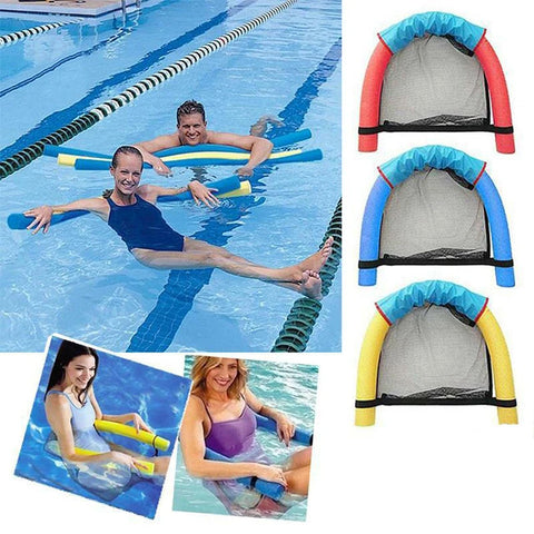 Floating Pool Chair Mesh Seats Hammock Noodle Sling Seat Swimming Net Float AU