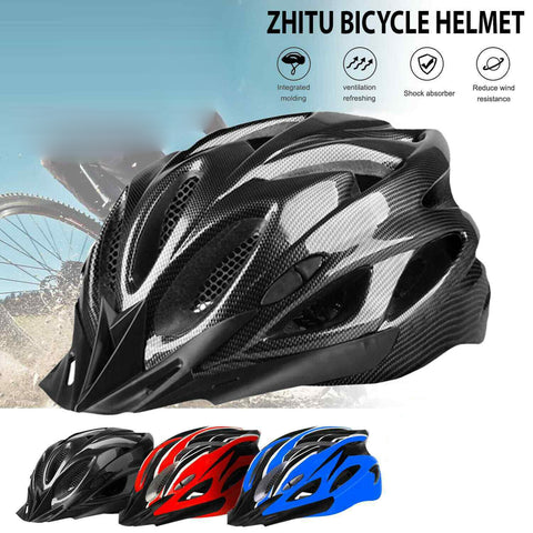 Bicycle Helmet Bike Cycling Adult Adjustable Mens Safety Helmet Outdoor Sport 9B