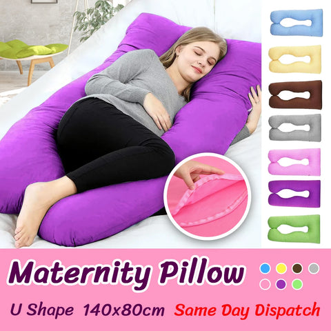 Maternity Pillow Pregnancy Nursing Sleeping Body Support Feeding Boyfriend AU