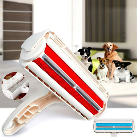 Pet Dog&Cat Hair Remover Roller Self Cleaning Hair Remover Fur Removal Roller AU
