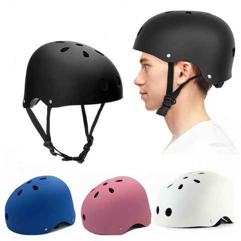 Bike & Skate Helmet 3 Sizes Available Kids Adult Skateboard Professional Safety