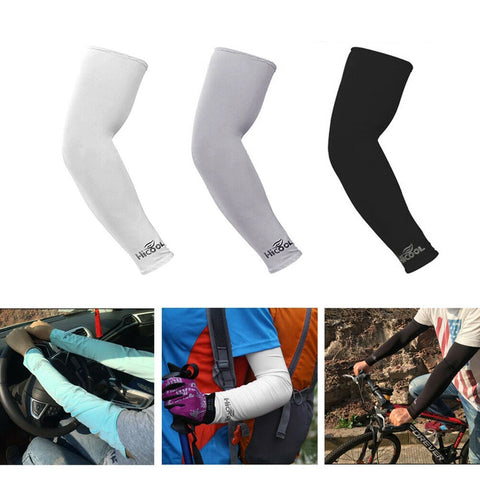 3 Pairs Cooling Sport Arm Sleeves Compression Protection Cover
