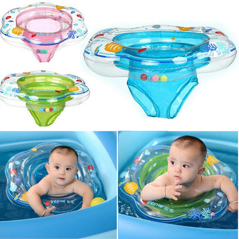 Baby Water Seat Inflatable Kids Swim Ring Swimming Pool Infant Float Safety