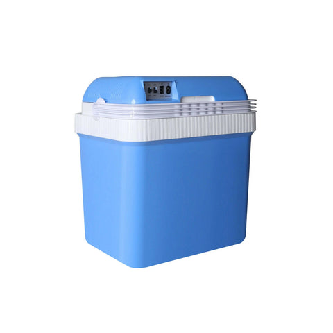 24L Camping Fridge Freezer Portable Ice Cooler CoolBox Insulated