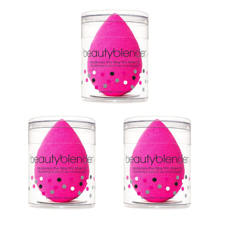 3X The Original BeautyBlender Makeup Applicator Beauty Blender sponge