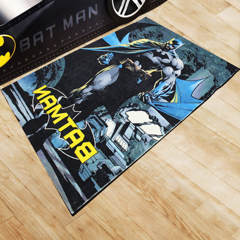 Oliandola 120x180cm Batman Rug Matching Kids Racing Car Bed Model #5510