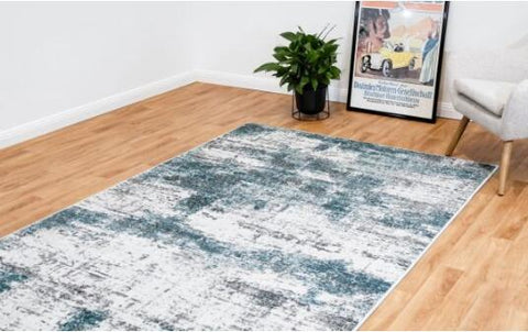 OliandOla New Designer Durable Floor Area Carpet CANNON 8306 Seaborne Rug