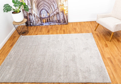 OliandOla New Designer Durable Floor Area Carpet Contempo 56752/241 Stone Rug