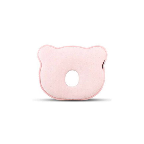 1x Pink Bear Baby Infant Newborn Memory Foam Pillow