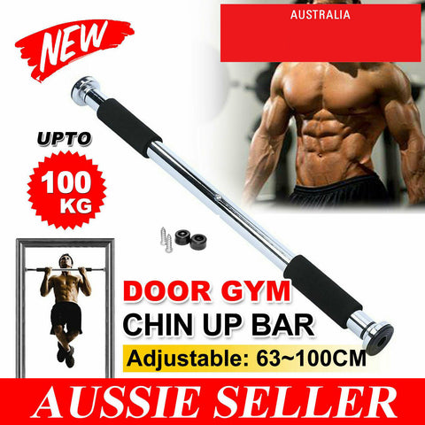 Door Gym Pull Up Bar Home Workout Chin Up Bars Doorway Pullup Station Exercise