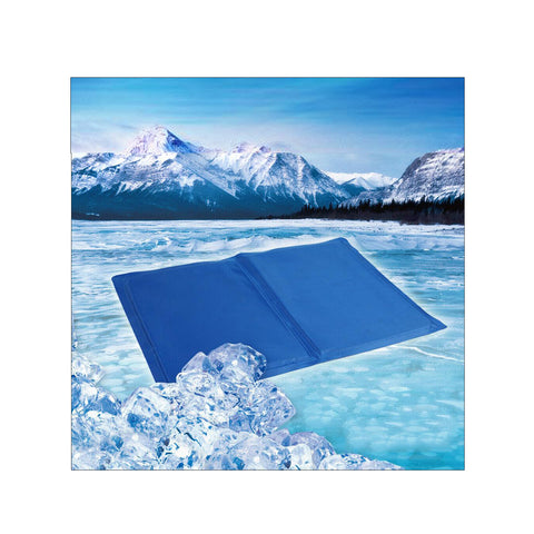 Pet Cooling Gel Mat Non-Toxic Summer Cool Pad Dog Cat Bed 5 Size