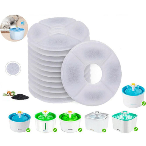 Carbon Filters Water Fountain Replacement For Pet Dog Cat Water Drinking