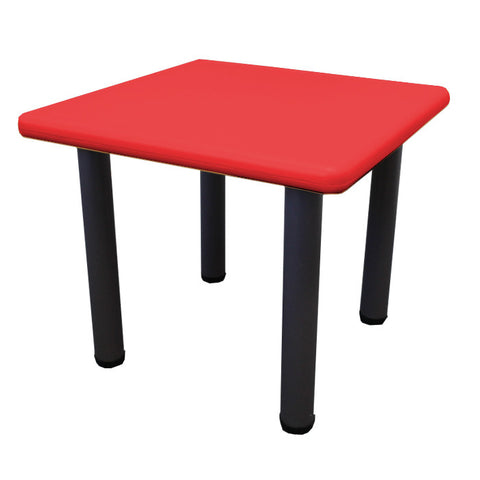 Kids Toddler Table with Adjustable Height - Red