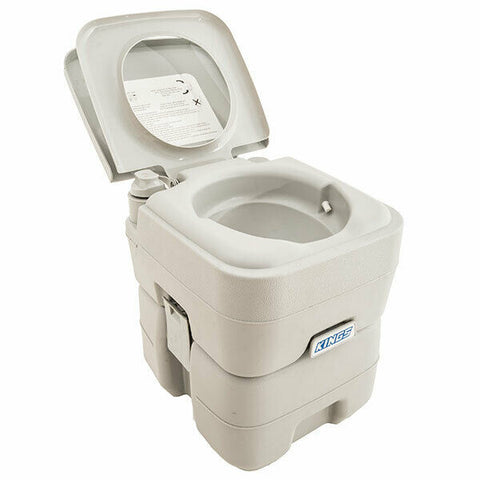 Adventure Kings Outdoor Portable Camping Toilet Flushable Independent Tank 4WD