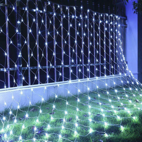 White 3Mx2M 320 LED Net Mesh Fairy Lights Wedding Party Garden Outdoor Christmas Light